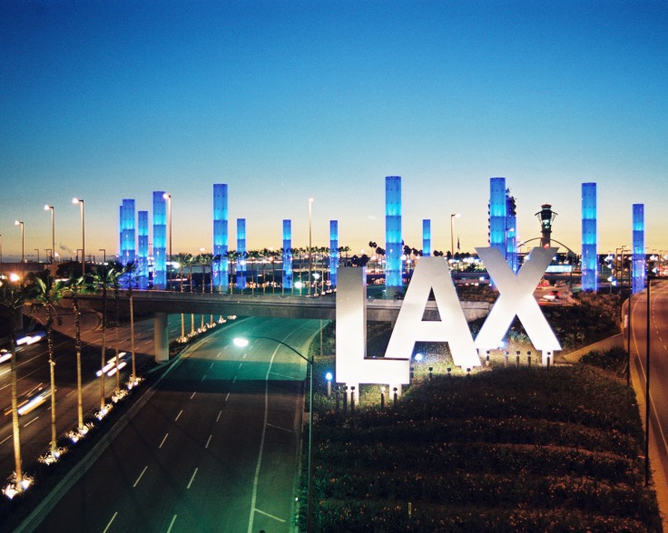 Light Pylons at LAX